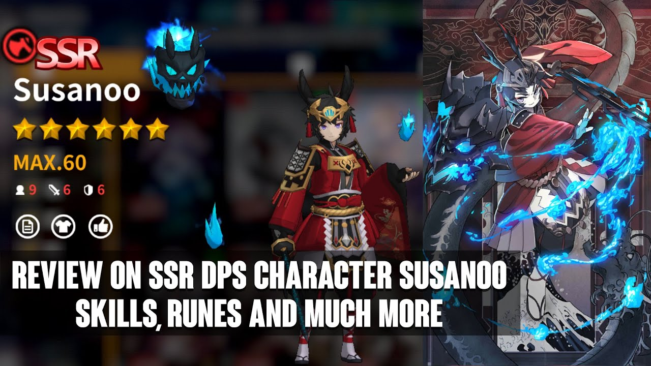 NIGHT ZERO - REVIEW ON SSR DPS CHARACTER SUSANOO, SKILLS