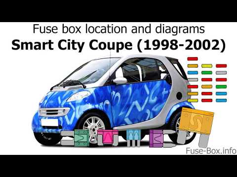 Fuse box location and diagrams: Smart City Coupe (1998-2002) - YouTubeYouTube