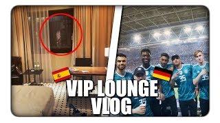 VIP beim LÄNDERSPIEL SPANIEN vs DEUTSCHLAND! | BOSS VIENNA