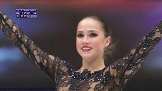 Alina Zagitova World Champs 2019 FS Carmen 1 155 42 F