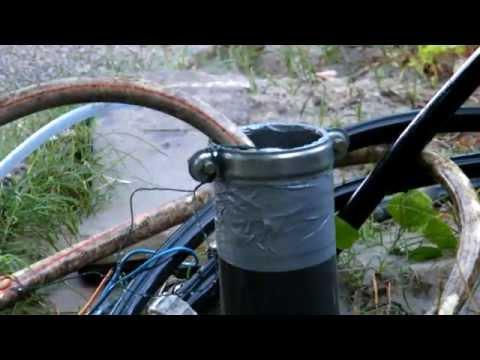 Forage 2m en 47 minutes avec eau + air