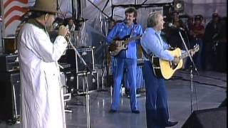 George Jones - Tennessee Whiskey (Live at Farm Aid 1985)