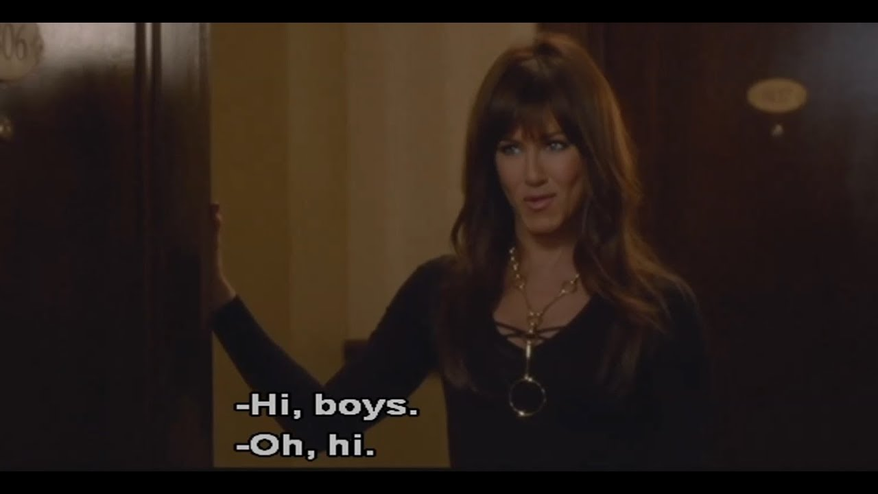 Horrible Bosses 2 Jennifer Aniston Sexy Scene I Collect Cocks Part 1