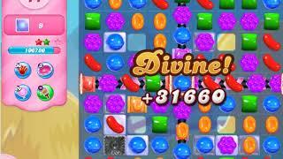 Candy Crush Saga   level 580 no boosters