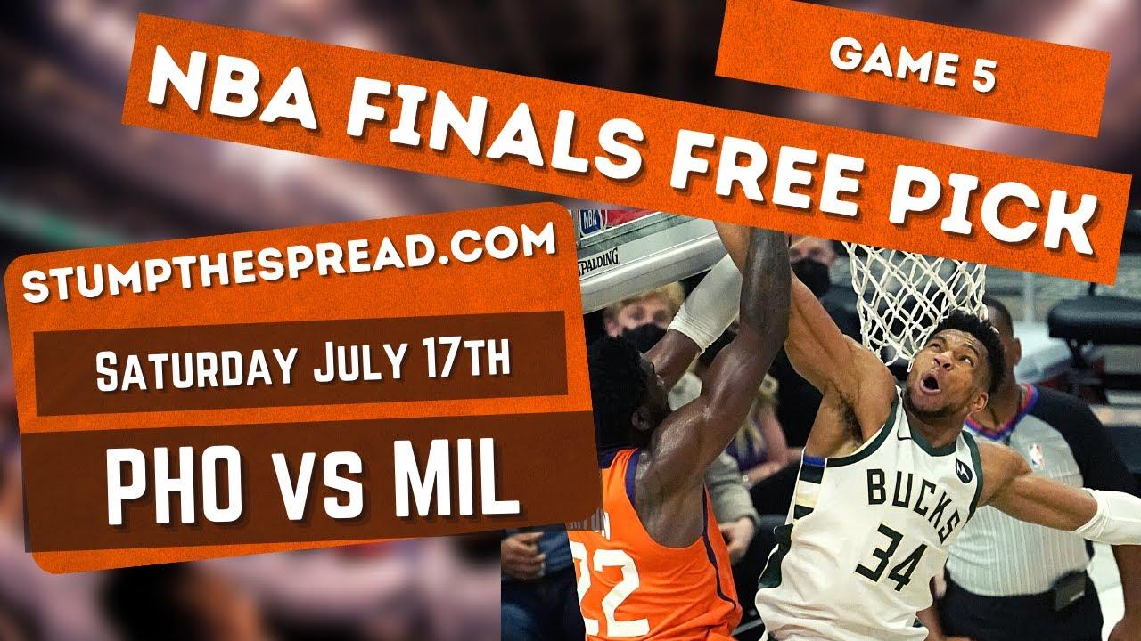 Suns vs. Bucks Game 5 odds: Spread, over/under, moneyline for ...