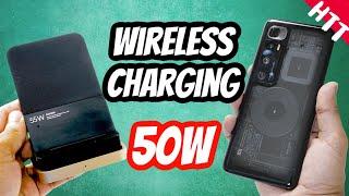 Xiaomi Mi 10 Ultra Wireless Charging Speed Test with 55W Wireless Charger