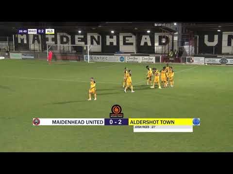 Maidenhead Aldershot Goals And Highlights
