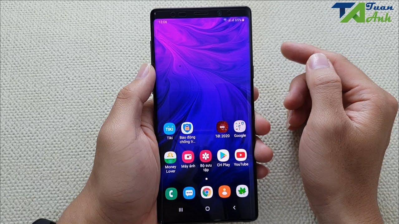 Cách quay màn hình trên điện thoại Samsung, hỗ trợ ghi âm hệ thống