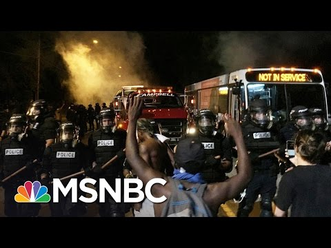 Police Shot Man In Charlotte While Seeking Another Suspect | MSNBC