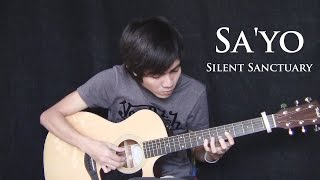Repeat youtube video SA'YO - Silent Sanctuary (fingerstyle guitar cover)