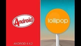 azumi a50c+ regresa de lollipop a kitkat  (NOVATOS) bien explicado