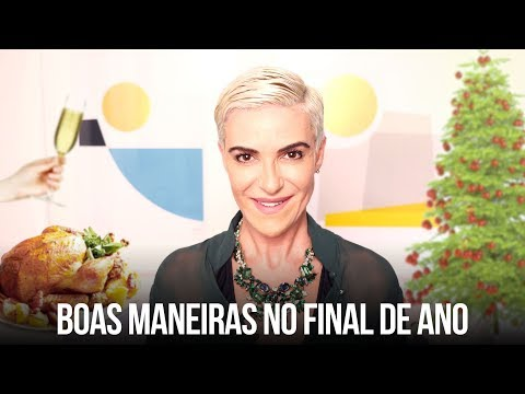 BOAS MANEIRAS NO FINAL DE ANO