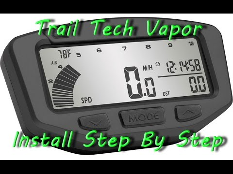 Trail Tech Endurance II Installation. Easy, clear, quality ... on