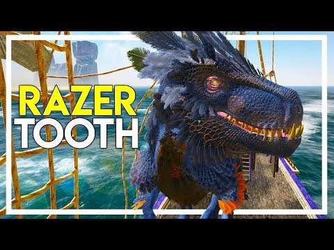 Taming a DINOSAUR in Atlas! - Razertooth Taming (Atlas Gameplay Part 37)