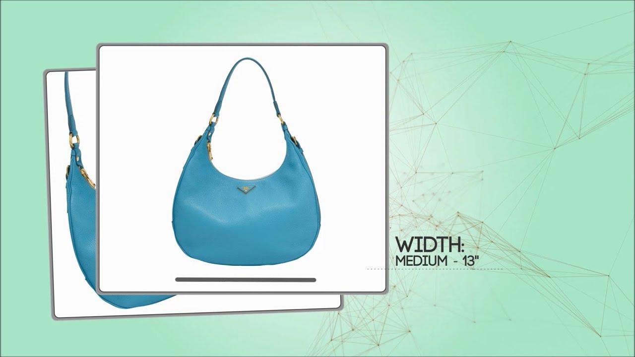 silver prada bag - How To Spot a Real (not FAKE) PRADA Vitello Daino Hobo review ...