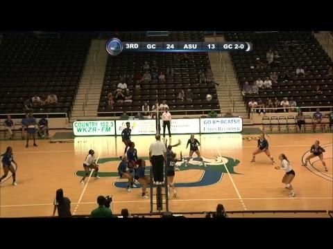 Georgia College Volleyball vs Albany State
