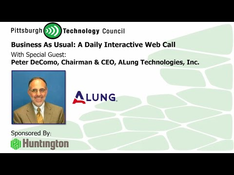 ALung CEO Pete DeComo Goes Live on Business as Usual