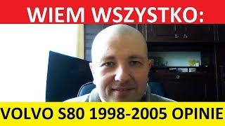 VOLVO S80 I 1998-2005 OPINIE, ZALETY, WADY, USTERKI, TEST, ZAKUP, SPALANIE. #autokrytyk #auto krytyk