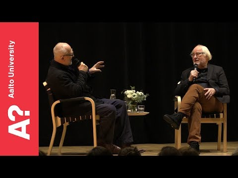 Peter Zumthor and Juhani Pallasmaa – Architecture Speaks