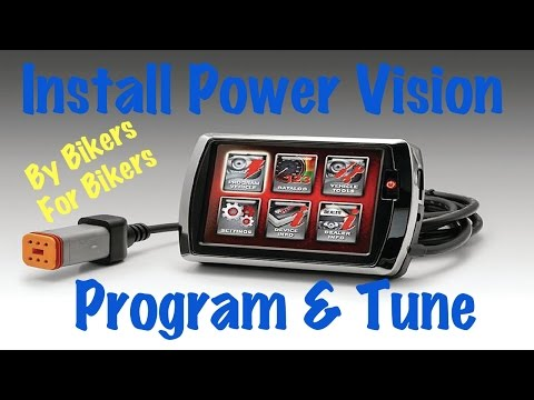 Install a DynoJet Power Vision Electronic Fuel Injection (EFI) Tuner on Harley Davidson-Tune
