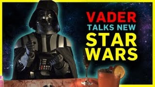 Darth Vader on the Upcoming Star Wars Films