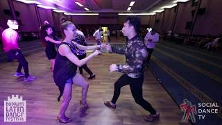 Ersin & Ezgi - Salsa Social Dancing | Bodrum Latin Dance Festival 2018