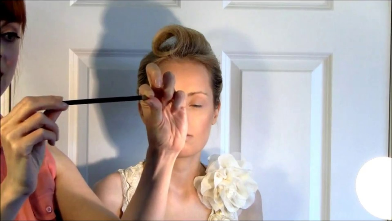 Copy Of Bridal Makeup Tutorial 1 For Bluegreen Eyes And Pale Skin