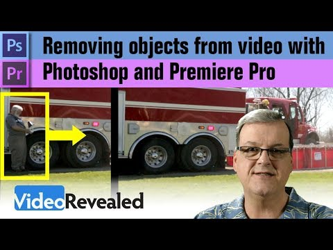 Removing Objects in video with Photoshop and Premiere Pro