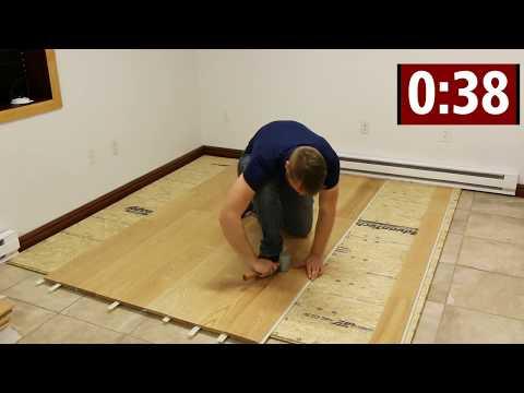 Steller Flooring: Solid Hardwood Installation Challenge