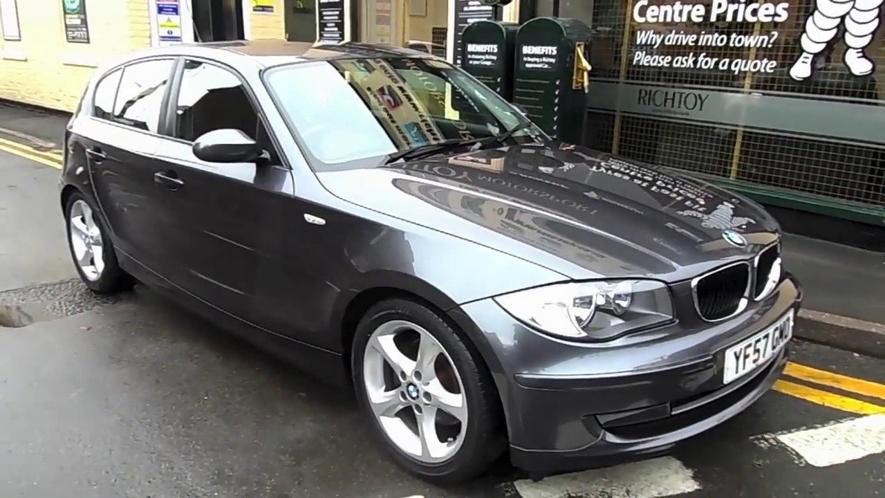 bmw 1 series 120d 2 0 2007 richtoy hd youtube. Black Bedroom Furniture Sets. Home Design Ideas
