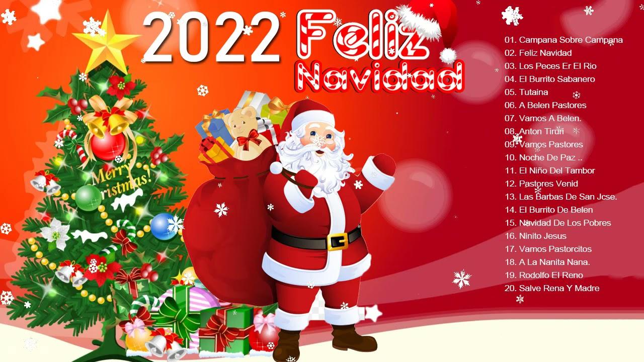 Feliz Navidad 2022 🎄Hermosa música de navidad en Español 2022 🎄 Clásicos de Navidad 2022