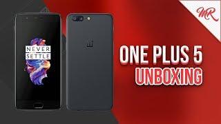 OnePlus 5 ◊ Unboxing en Español ◊ Marcos Reviews
