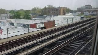 MTA NYCT: Coney Island bound F train ride from Ditmas Av to Coney Island
