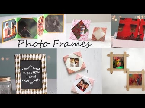 Easy DIY Photo Frames