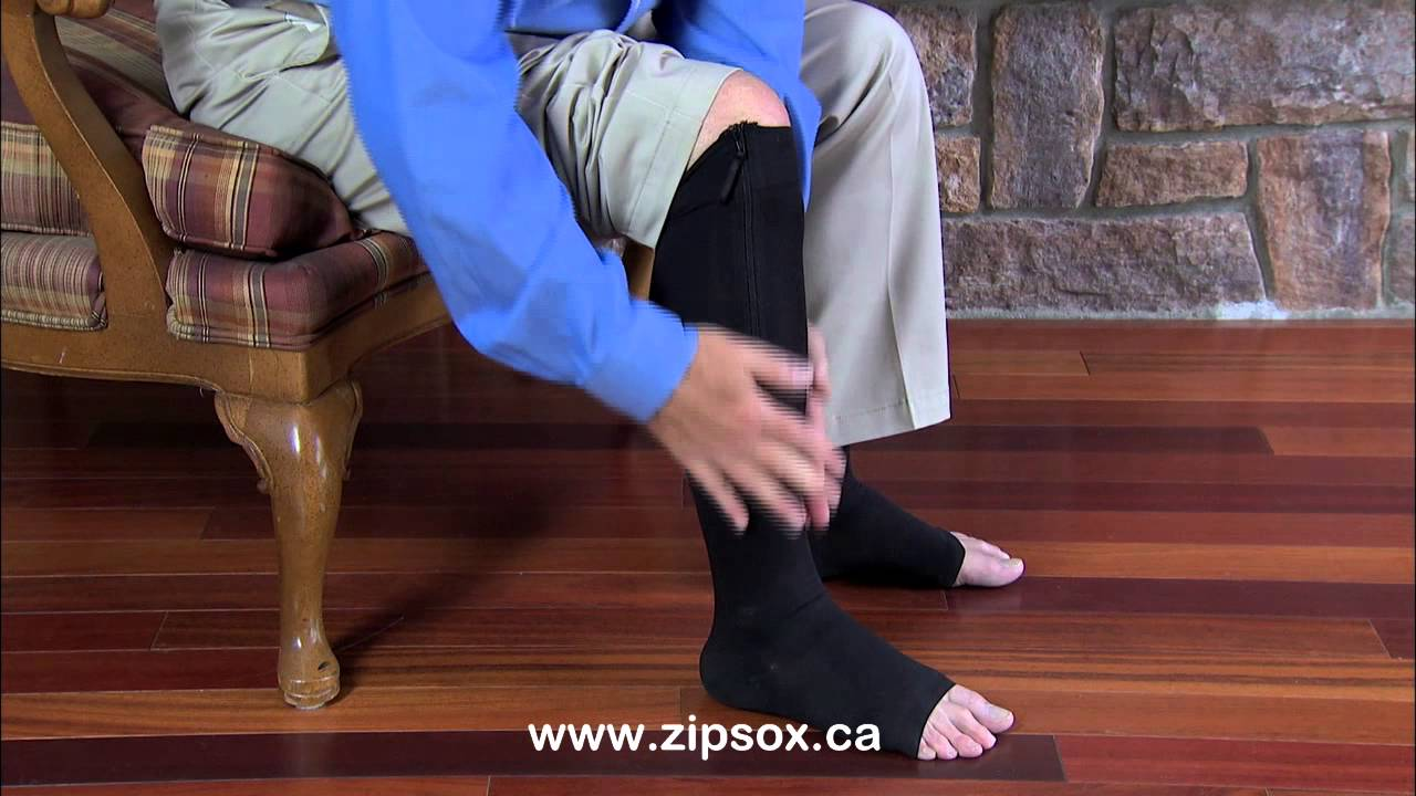 8aa15b2d69 Zip Sox - new zip up compression socks - YouTube