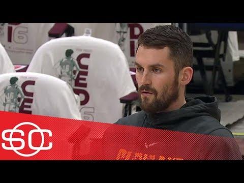 Kevin Love starting at center for Cavs vs. Bucks | SportsCenter | ESPN