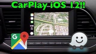 Apple CarPlay FINALLY Adds Google Maps & Waze (!) + iOS 12 Updates thumbnail