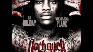 Waka Flocka Flame - Bustin At Em (Instrumental Remake w/ Hook) (Plus DL Link)