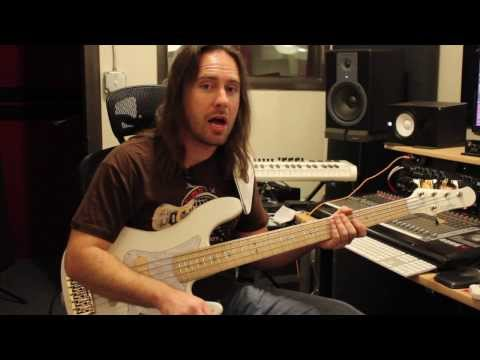 Carvin PB Series Bass - demo by Zach Fowler