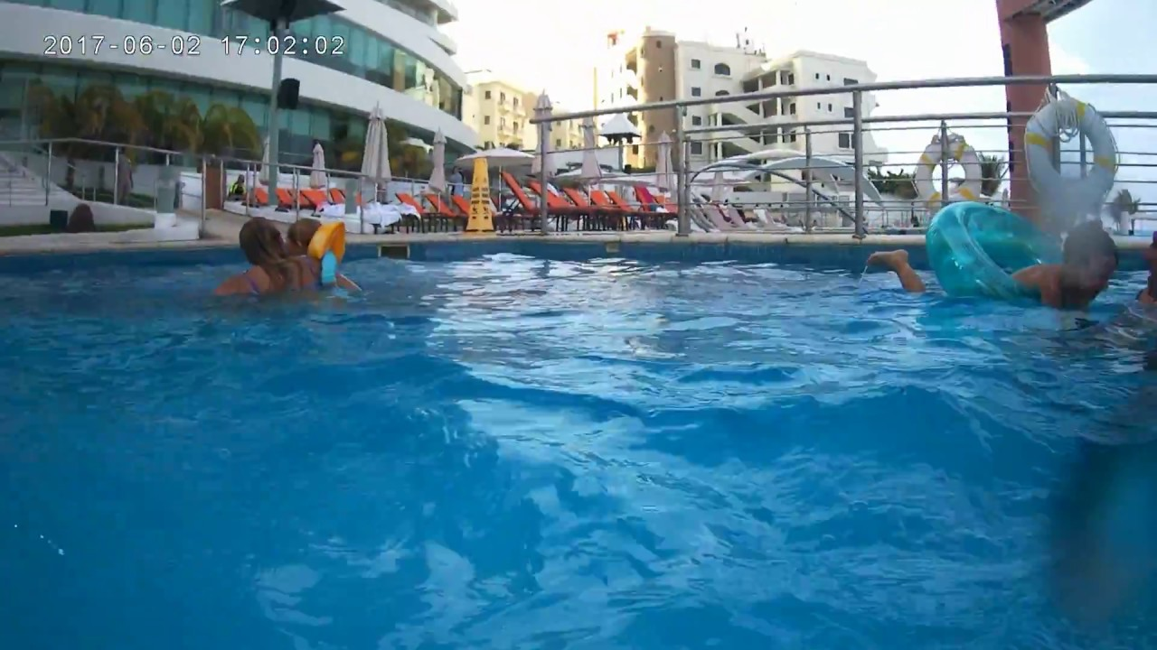 zdfuncom Water Slide at Beach Palace in Cancun Mexico