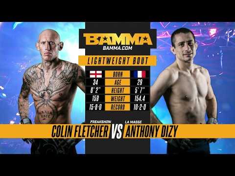 BAMMA 33: Colin Fletcher vs Anthony Dizy