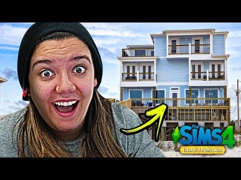 COMPREI UMA CASA NOVA - The Sims 4 Ilhas Tropicais