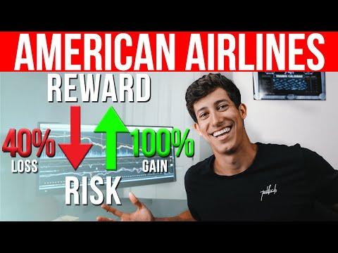 🚀American Airline ($AAL) Stock A Buy? (Risk Analysis)