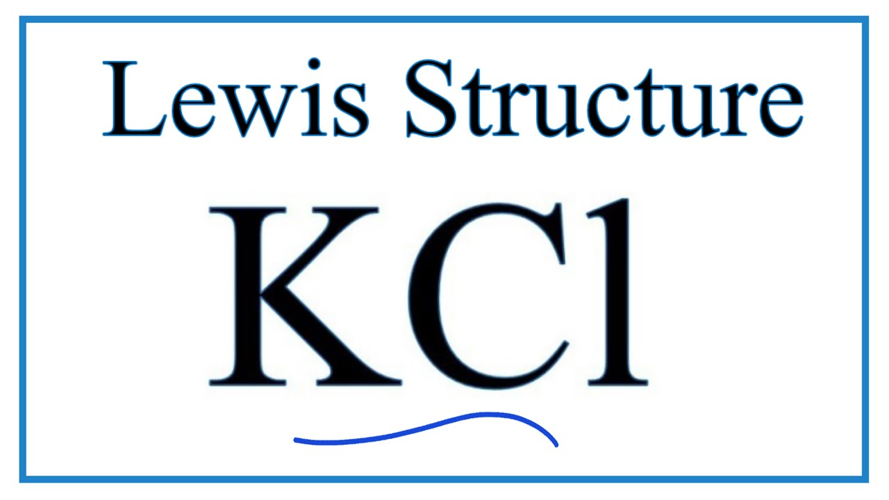 how to draw the lewis dot structure for kcl ( potassium chloride Na Dot Diagram how to draw the lewis dot structure for kcl ( potassium chloride)