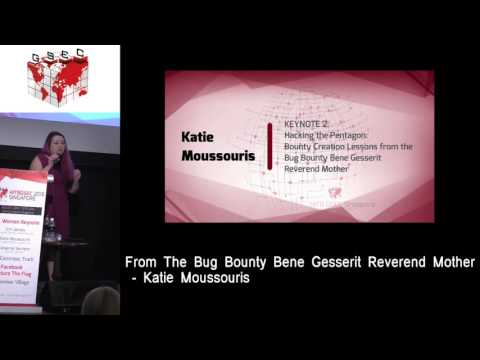 #HITBGSEC 2016 SG KEYNOTE 2 - Hacking The Pentagon - Katie Moussouris