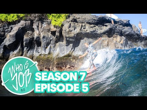 Finless Surfing and a 50-foot Waterfall   Who is JOB 8.0 S7E5
