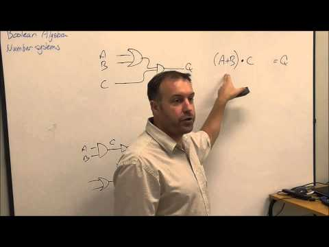 Boolean Algebra and number systems