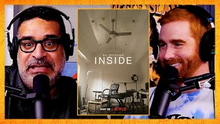 """Andrew Santino and Erik Griffin Talk About Bo Burnham's Special """"Inside""""   Bad Friends Clips"""
