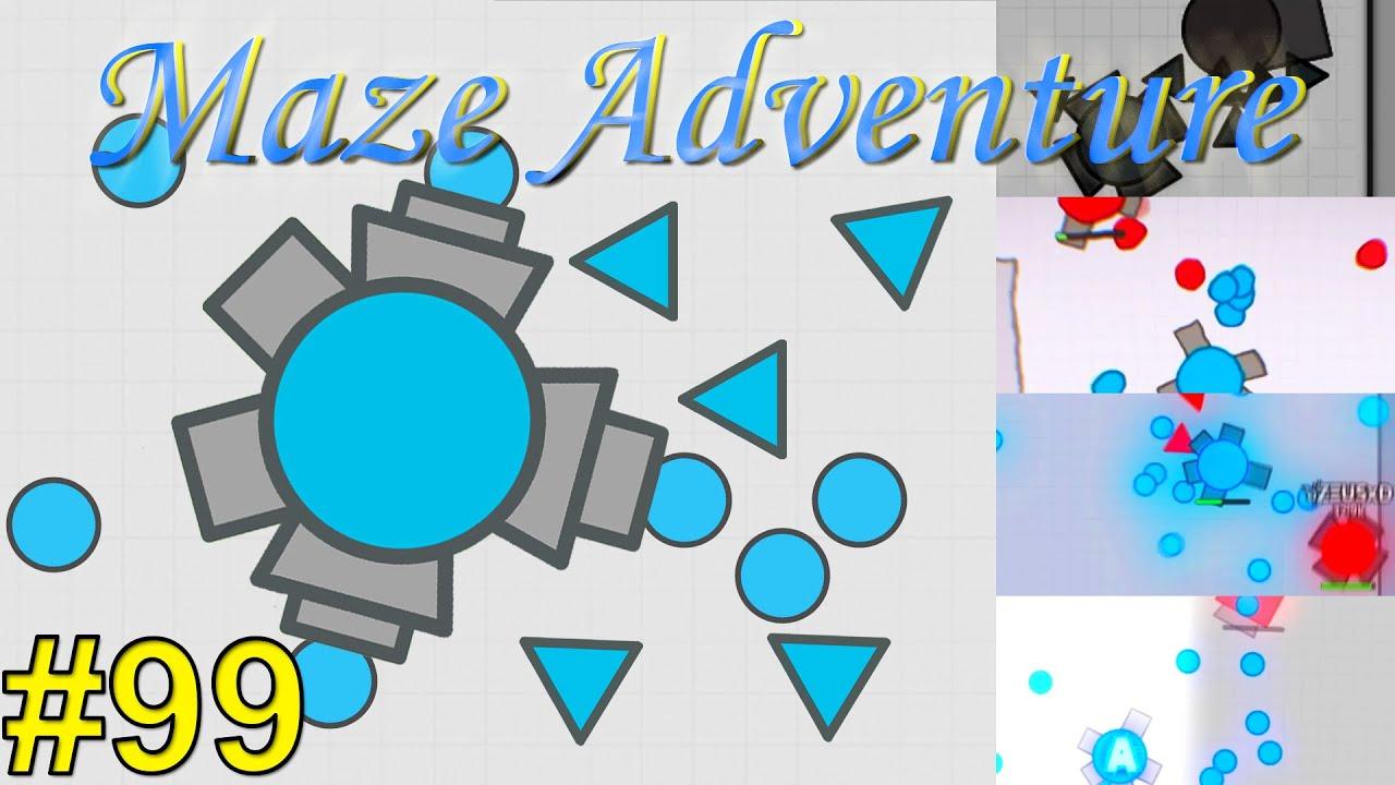 Diep.io   Maze Adventure #99