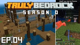 Truly Bedrock s0 e4: Pranks and Spruce Island docks